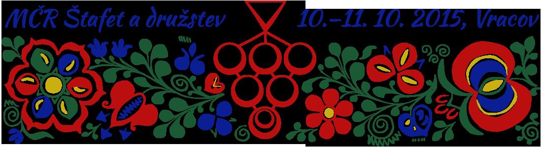 MČR štafet a družstev v OB 2015