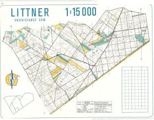 PMZ 1984, Bzenec, Přívoz - mapa Littner