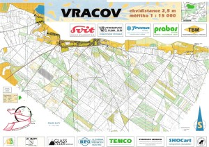 PMZ 1996 - PE - mapa Vracov